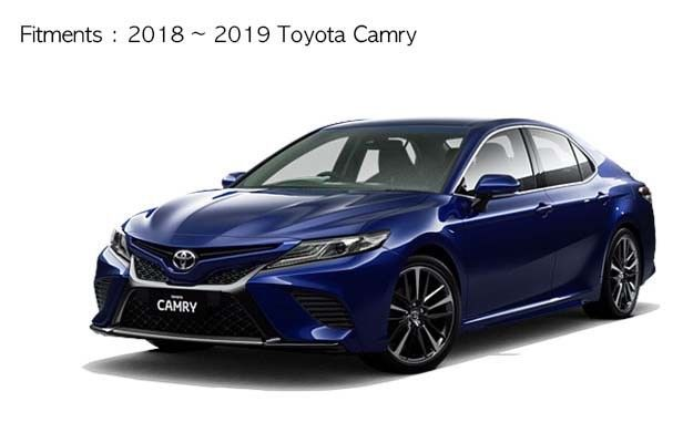 Details About For 2018 2019 Toyota Camry Rear Roof Spoiler Wing Lip