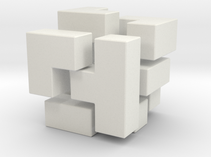 Cube By Cgenie72 On Shapeways Cubes Architecture Architecture Design Concept Cubic Architecture