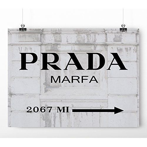 Mouse Pad - Prada Marfa - Fashion destination Pattern Design Quality Anti Slip Computer PC Mouse Mat Soft Comfort Feel Finish 0007