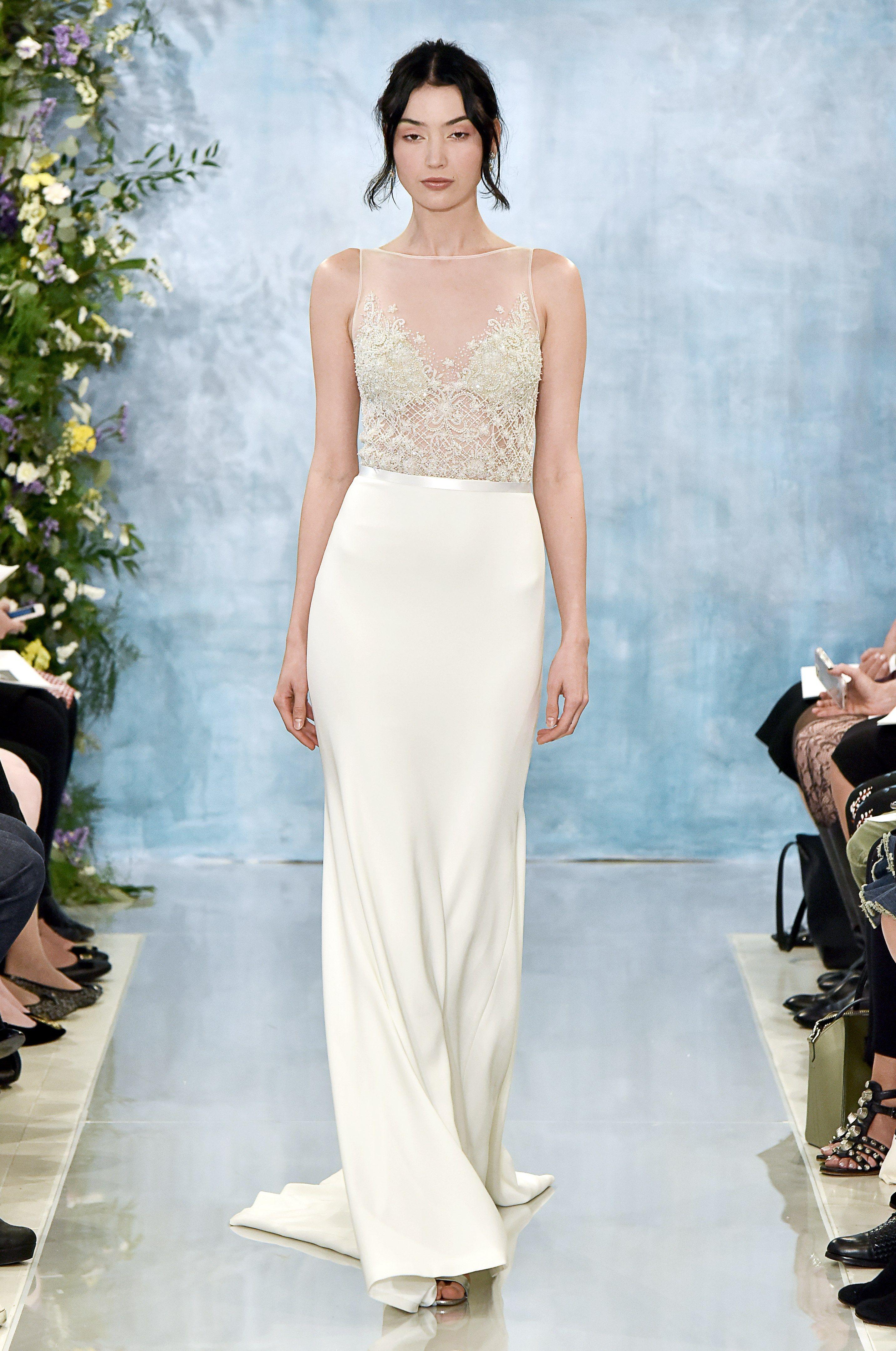 Khloe kardashian wedding dress  Theia Bridal u Wedding Dress Collection Fall   Brides