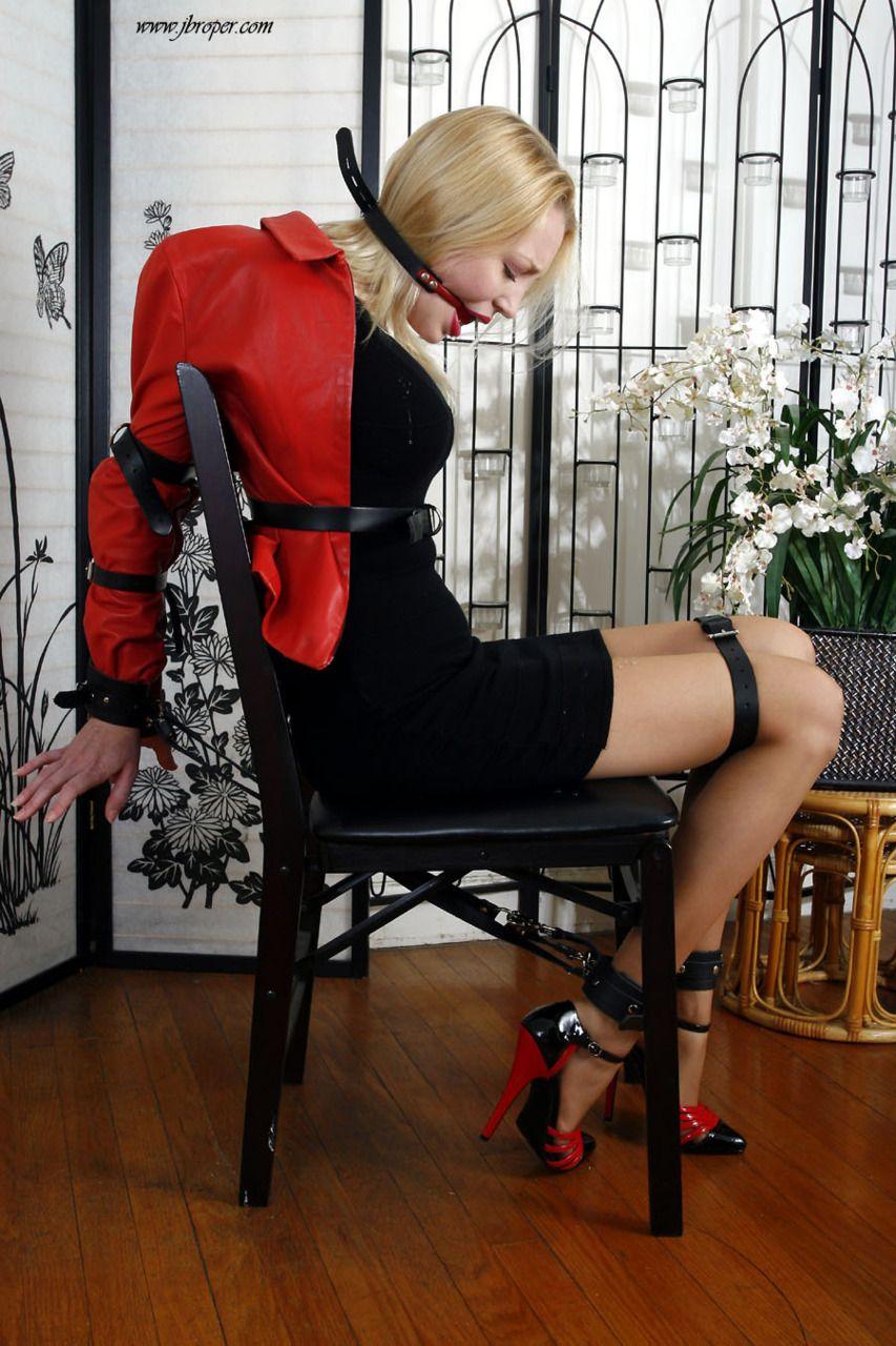 High heeled women in bondage god knows!