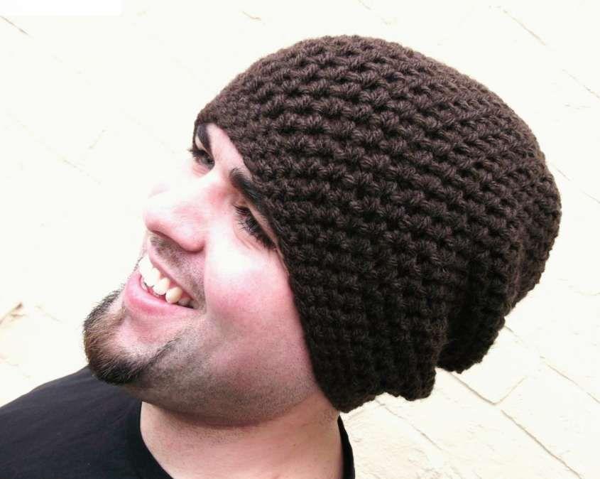 Cappelli di lana ai ferri da uomo  58074c25477d