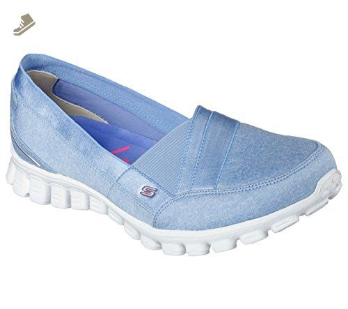skechers light blue womens