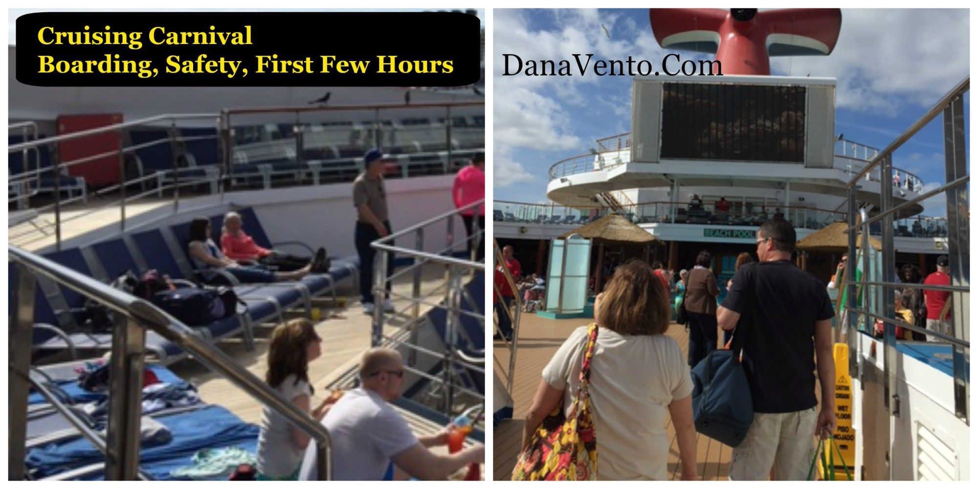 Cruising Carnival Safety, Security, Luggage & CheckIn