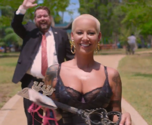 """Amber Rose goes on a """"Walk of No Shame"""" in a new Funny or Die video. Watch here!"""