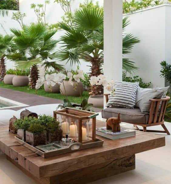 Ideas Para Decorar Una Terraza Con Poco Dinero Diseno De Terraza Decoracion Terraza Jardin Interior
