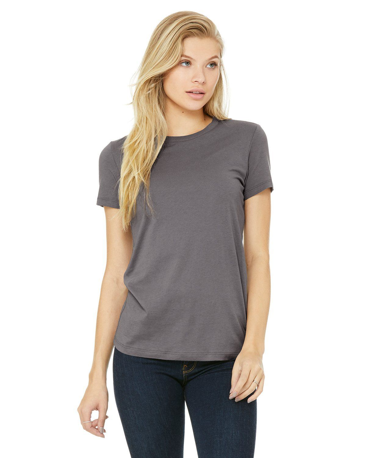 1ef9157d Bella + Canvas Ladies The Favorite T-Shirt 6004 Storm in 2019 ...