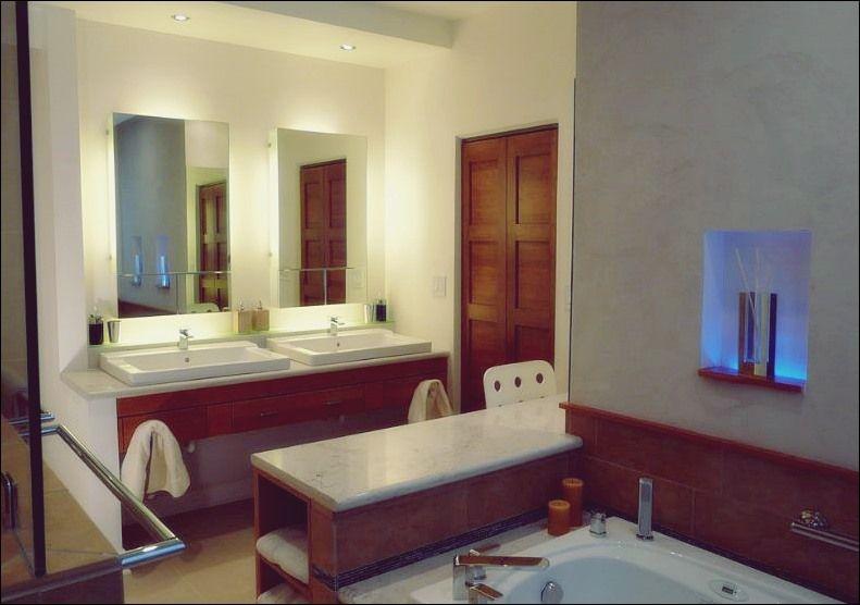 Wie Man Einen Modernen Badezimmerspiegel Mit Lichtern Auswahlt Bad Deko Badezimmerspiegel Moderne Badezimmerspiegel Bad Deko