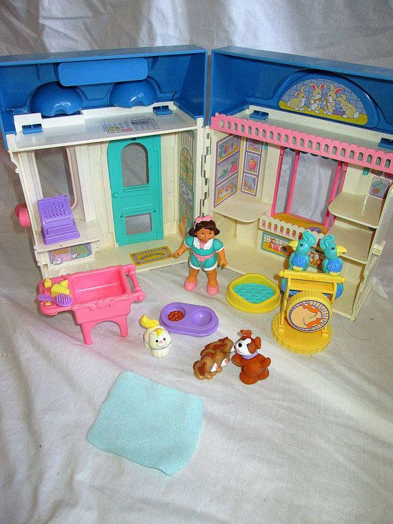 Fisher Price Dream Dollhouse Pet Shop Rare Accessory Set To The