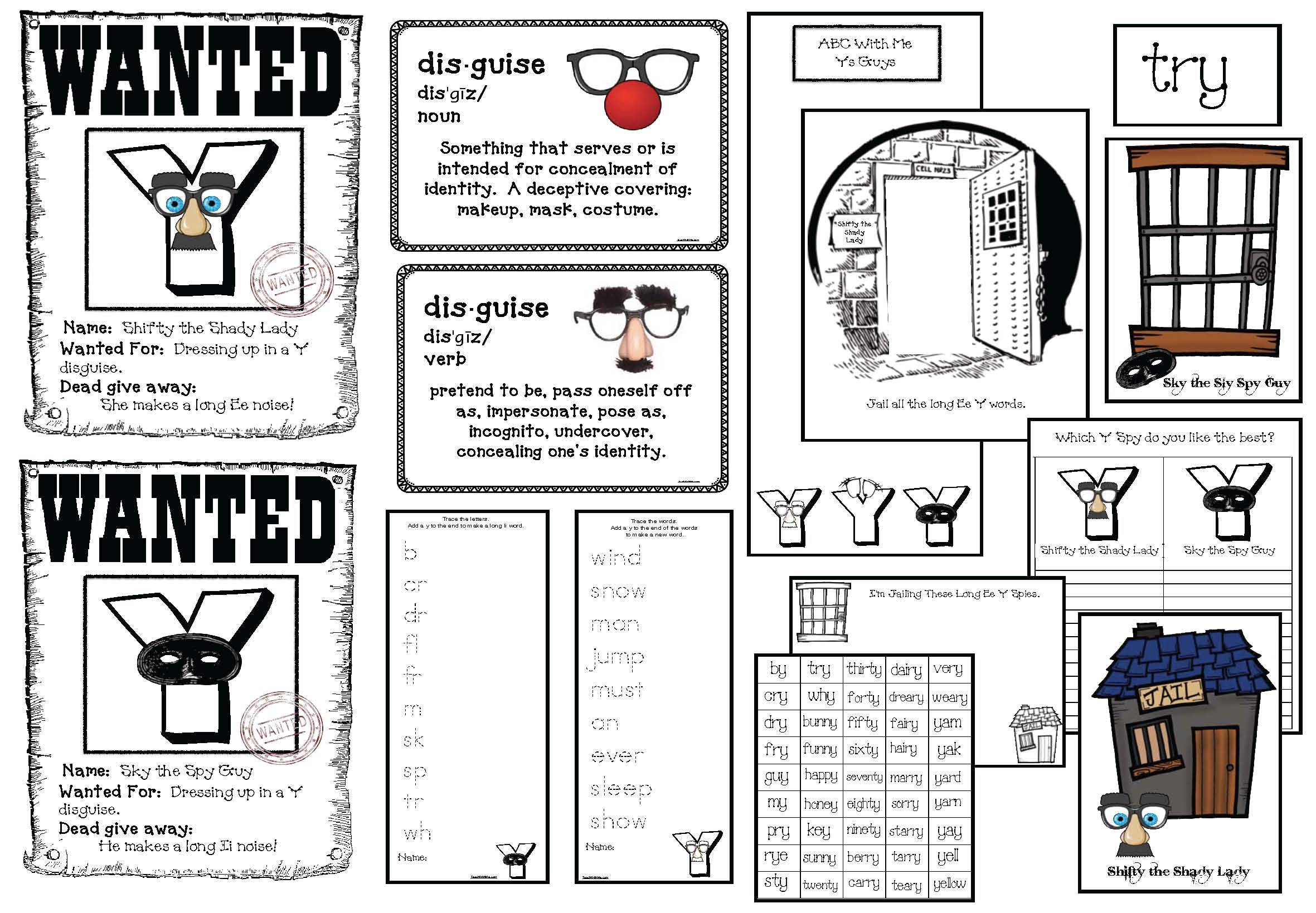 Activities For The Tricky Letter Yy With Images
