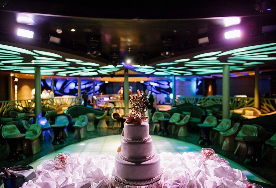 Disney Cruise Line Wedding Spotlight Colette Johnny Disney Weddings Disney Wedding Cost Cruise Wedding Disney Cruise Wedding