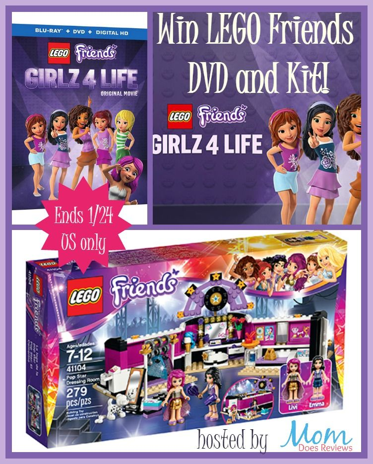 The Mommy Island: LEGO FRIENDS: GIRLZ 4 LIFE Giveaway | Giveaway ...
