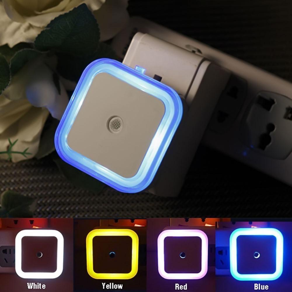 Light Sensor Bedroom Lamp Night Light Led Night Light Sensor Night Lights