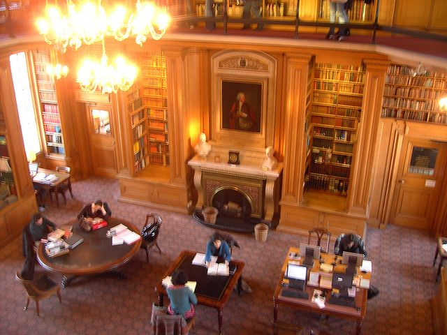 Taylor Institute Library in Oxford, UK. The most beautiful library I've ever been to!