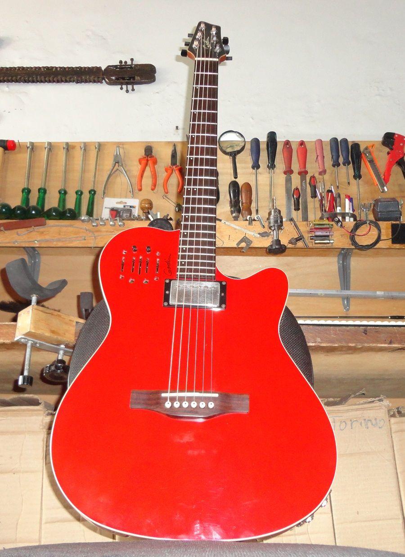 Violao Godin Regulagem Geral De Afinacao Oficina Das Guitarras