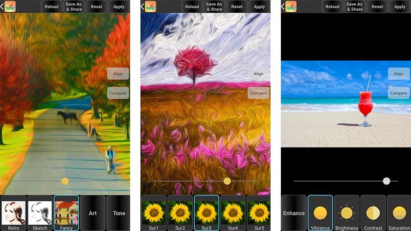 free photo editor app for android