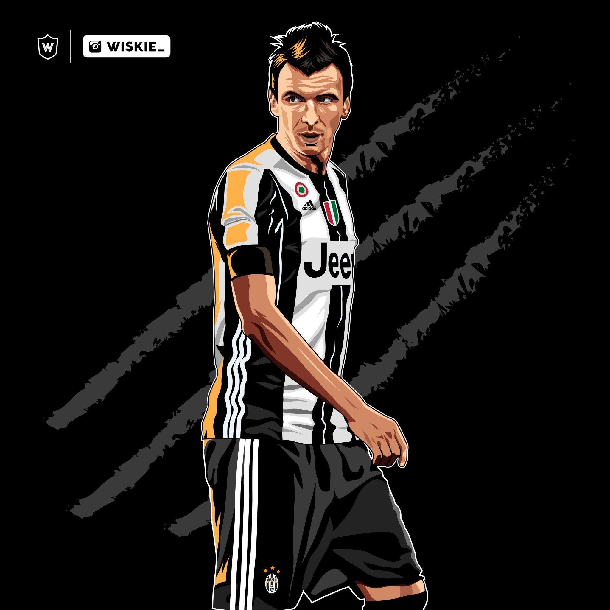 Mario Mandžukić Juventus FC Pinterest