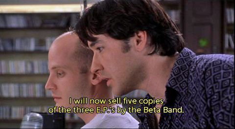 The High Fidelity Cultural Reference Guide, Vol. V: Great Scenes and Lines  -- Dry The Rain | High fidelity quotes, Soundtrack to my life, Pixies songs