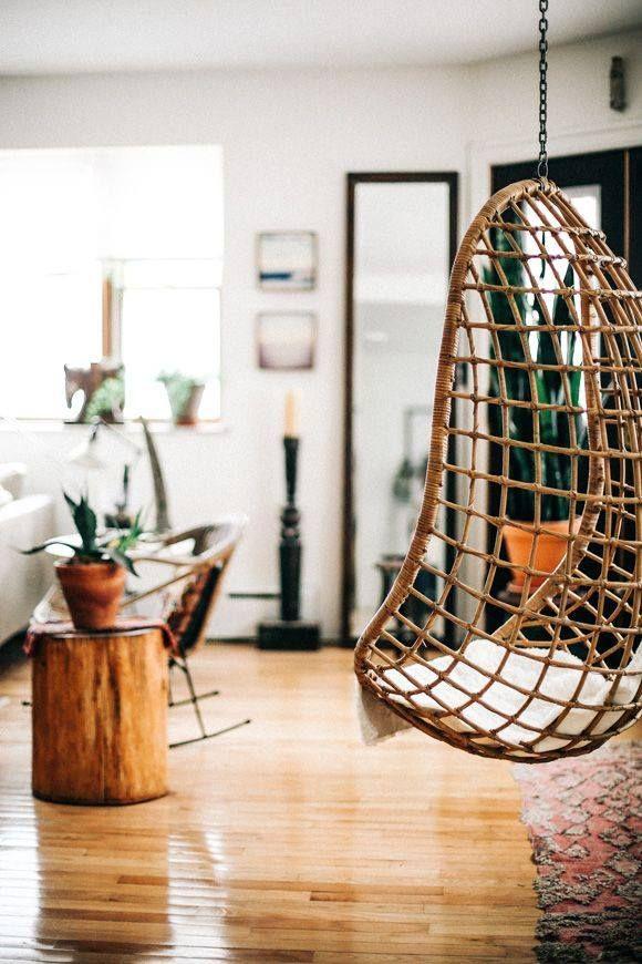 10 fauteuils suspendus blog d co design salon pinterest fauteuil suspendu fauteuil et deco. Black Bedroom Furniture Sets. Home Design Ideas