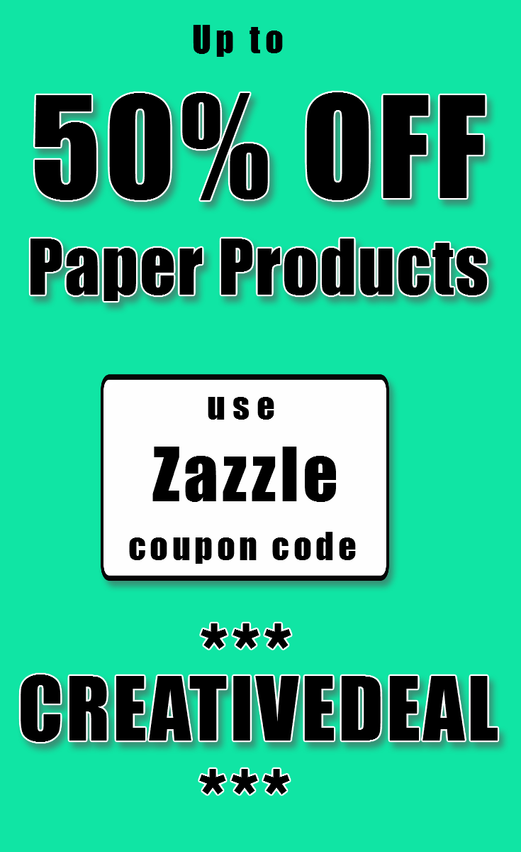 We have a new coupon out at zazzle this time its for up to 50 we have a new coupon out at zazzle this time its for up to 50 off paper products that means that notebooks card stationary stickers calendars reheart Image collections