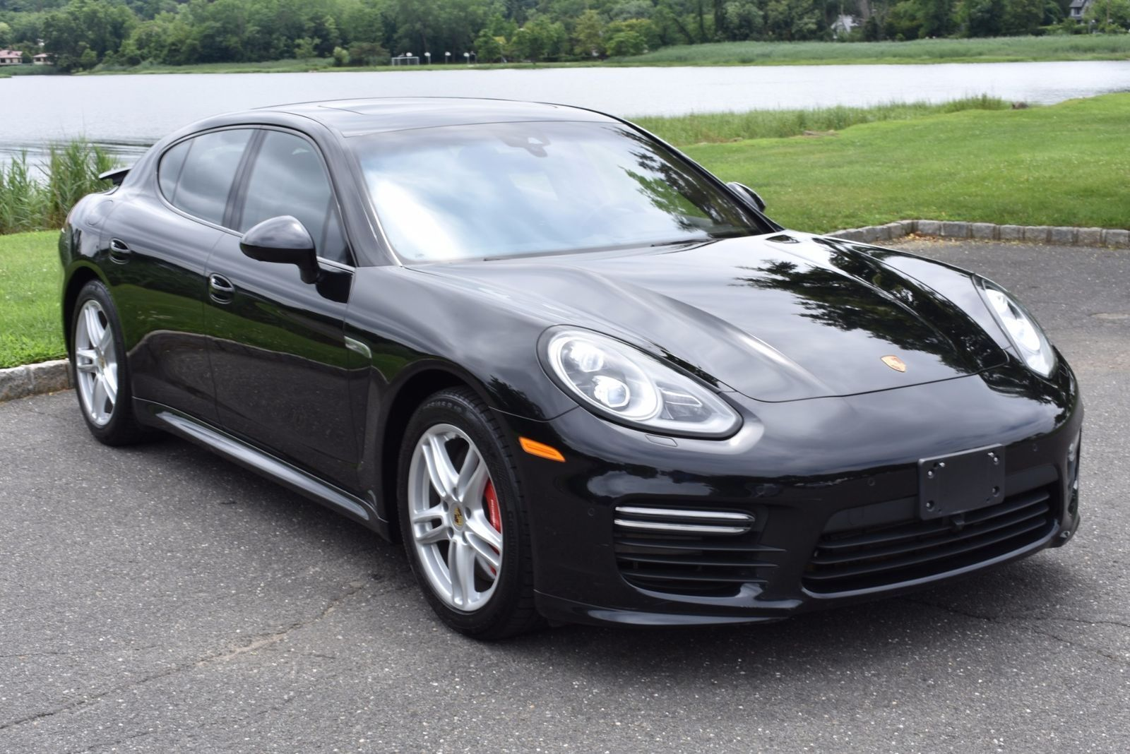 Awesome Great 2015 Porsche Panamera GTS PANAMERA 30755 Miles Black 4DR HB