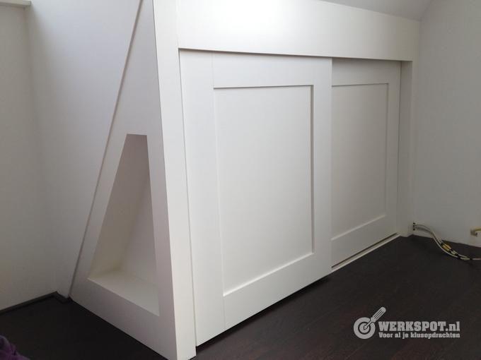Schuifdeuren Voor Knieschotten.Knieschotten Schuifdeuren Google Search Home Zolder Loft