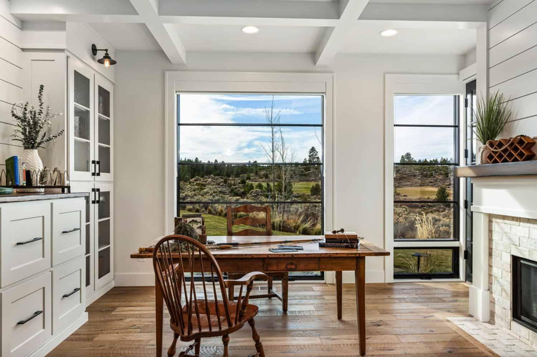 Mountain modern farmhouse with indoor-outdoor living in ... on Farmhouse Outdoor Living Space id=72112
