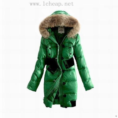 moncler daunenmantel damen orange