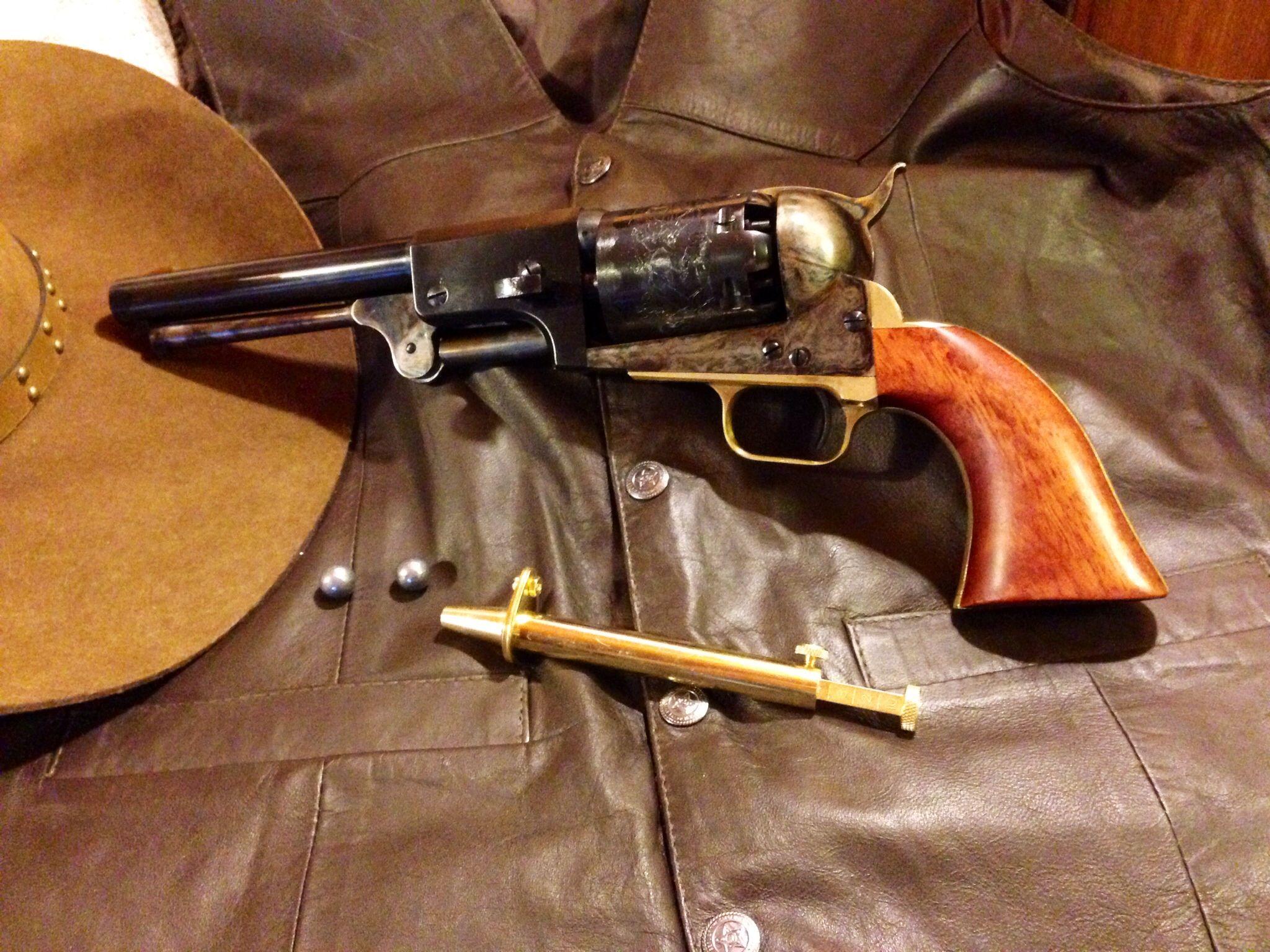 Pietta Colt Dragoon 3rd Model   Uncle Gus   Hand guns