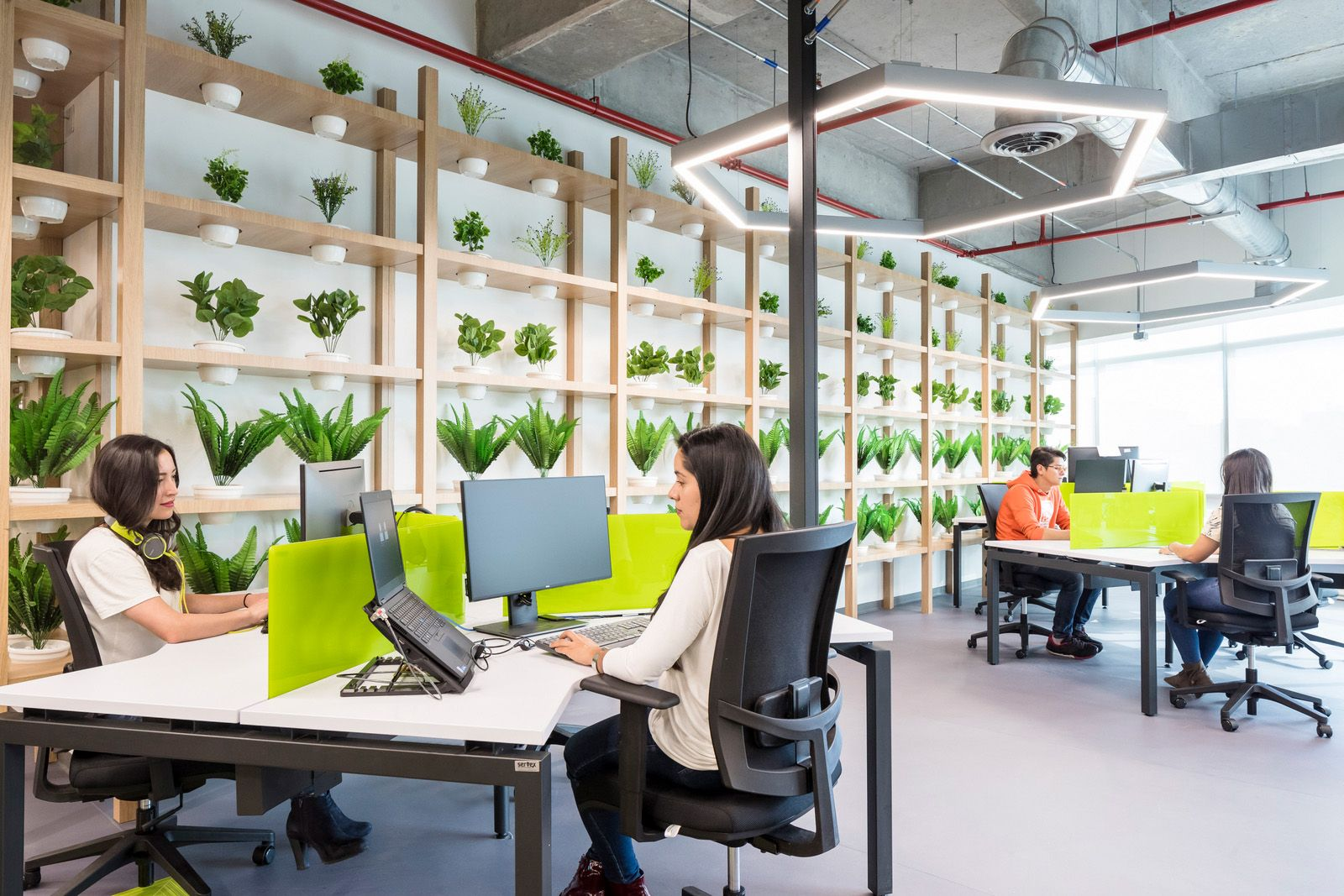Office Tour Globant Offices Bogot Office Plants Walls And  # Muebles Jennifer'S Bogota