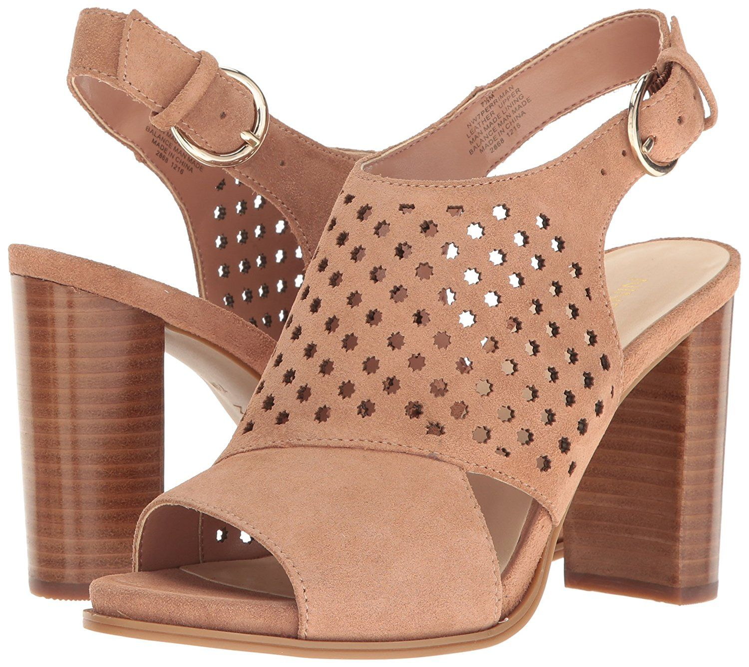Nine West Women S Perriman Suede Dress Sandal You Can Find Out More Details At The Link Of The Image Summer Sandals Heels Sandals Heels Boot Shoes Women