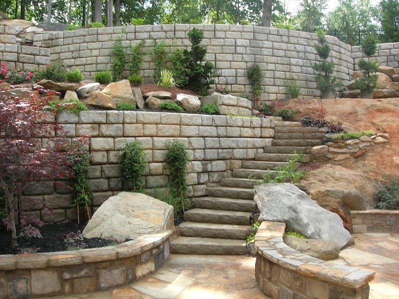 Residential Landscape Ideas by Redi-Rock International ...