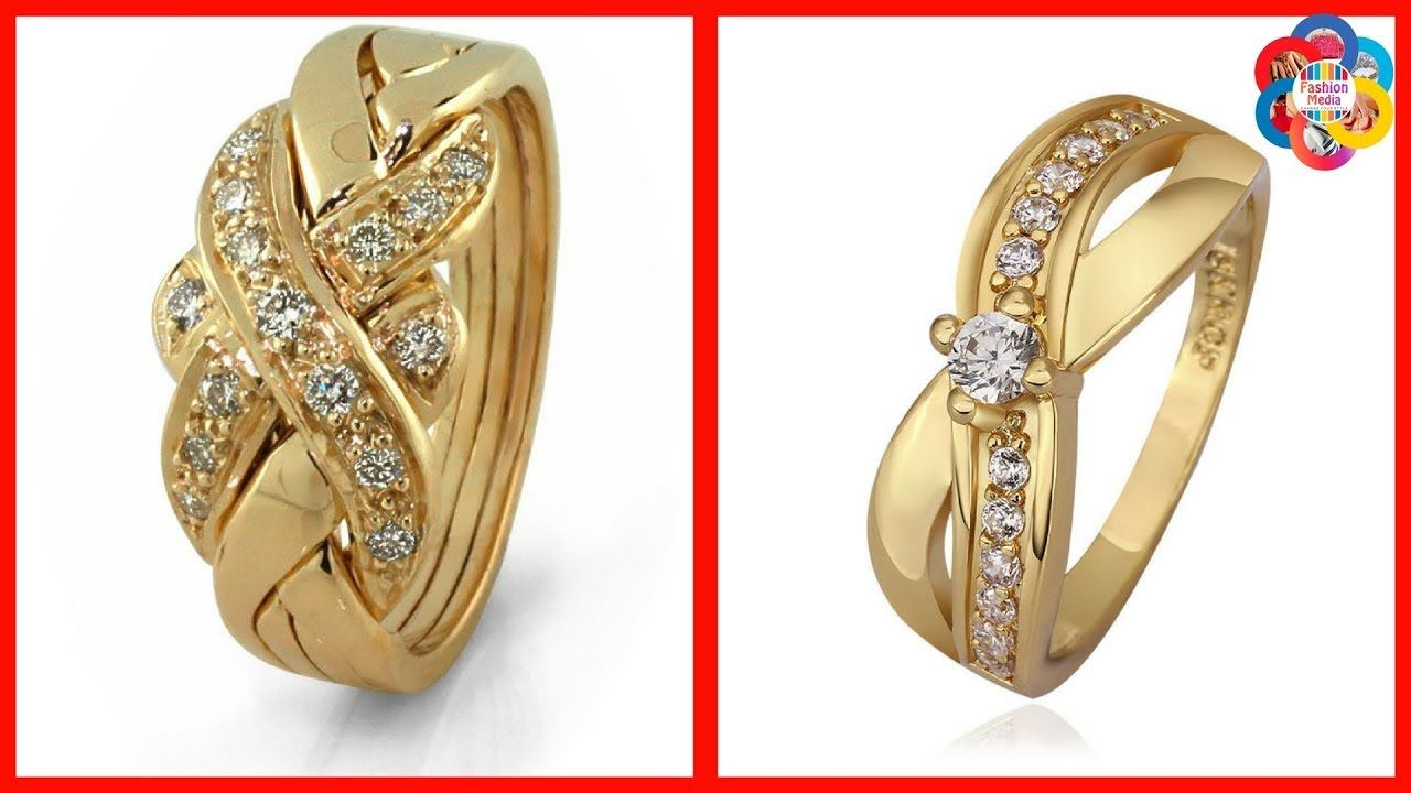 Latest Gold Ring Designs for Girls  Women  Rings in 2019