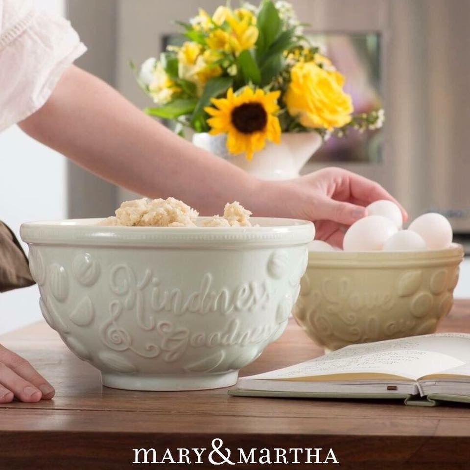 Today's recipe calls for a pinch of patience, a dash of kindness, a spoonful of laughter, and a heap of love. Have you seen our new bowls? Our Spring catalog is now available at Choose2Bless.com!