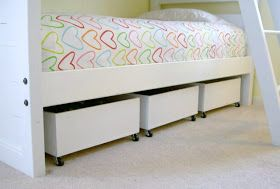 Diy Under Bed Storage Love This Idea I M Using In All
