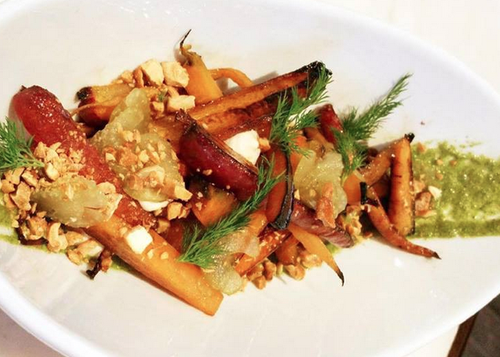 """Eater Detroit has praiseful words for the Republic in the G.A.R. Building on Grand River in Detroit, for its historic tavern feel and menu of small plates and """"feasts."""""""