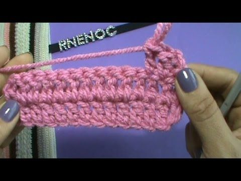 Como Aprender A Tejer Crochet Para Principiantes Como Tejer Punto Vareta Ganchillo Crochet Clase 5 Principiantes