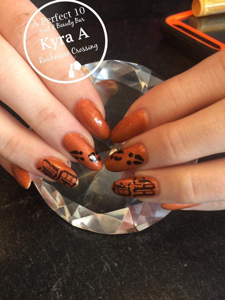 Glam Fall Nail Art Ideas 2018 Trends for Women | Nail Art Community ...