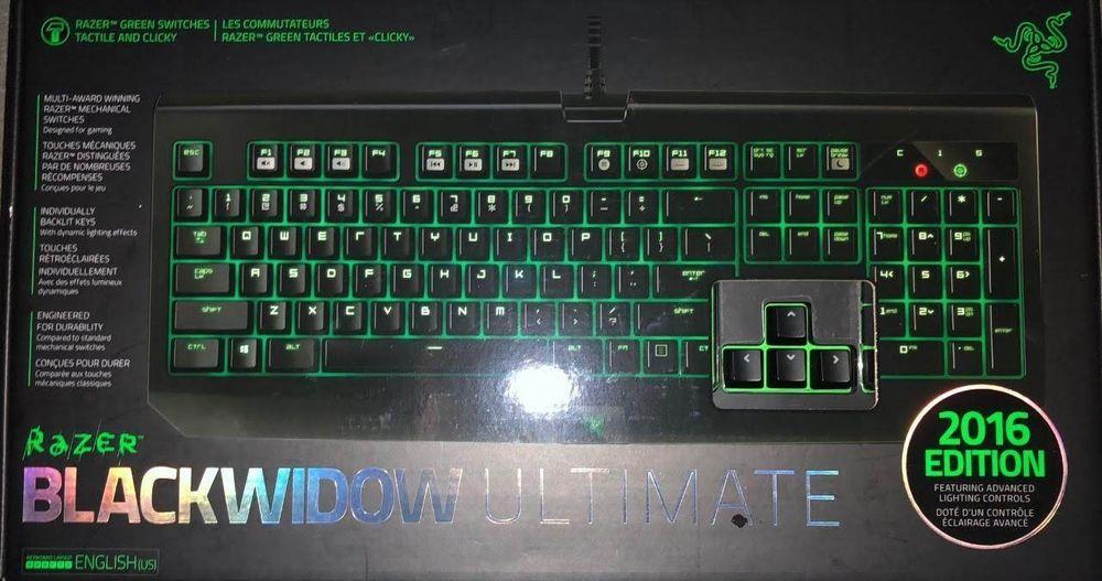 Razer Pc Black Widow Ultimate Wired Keyboard Gaming Fortnite - razer pc black widow ultimate wired keyboard gaming fortnite rainbow6 stealth
