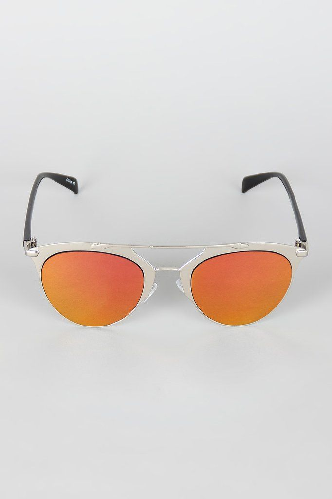 49f1150ec3 Double Bridge Matte Shooter Sunglasses