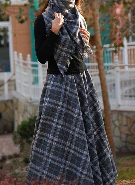 юбка полусолнце из габардина своими руками