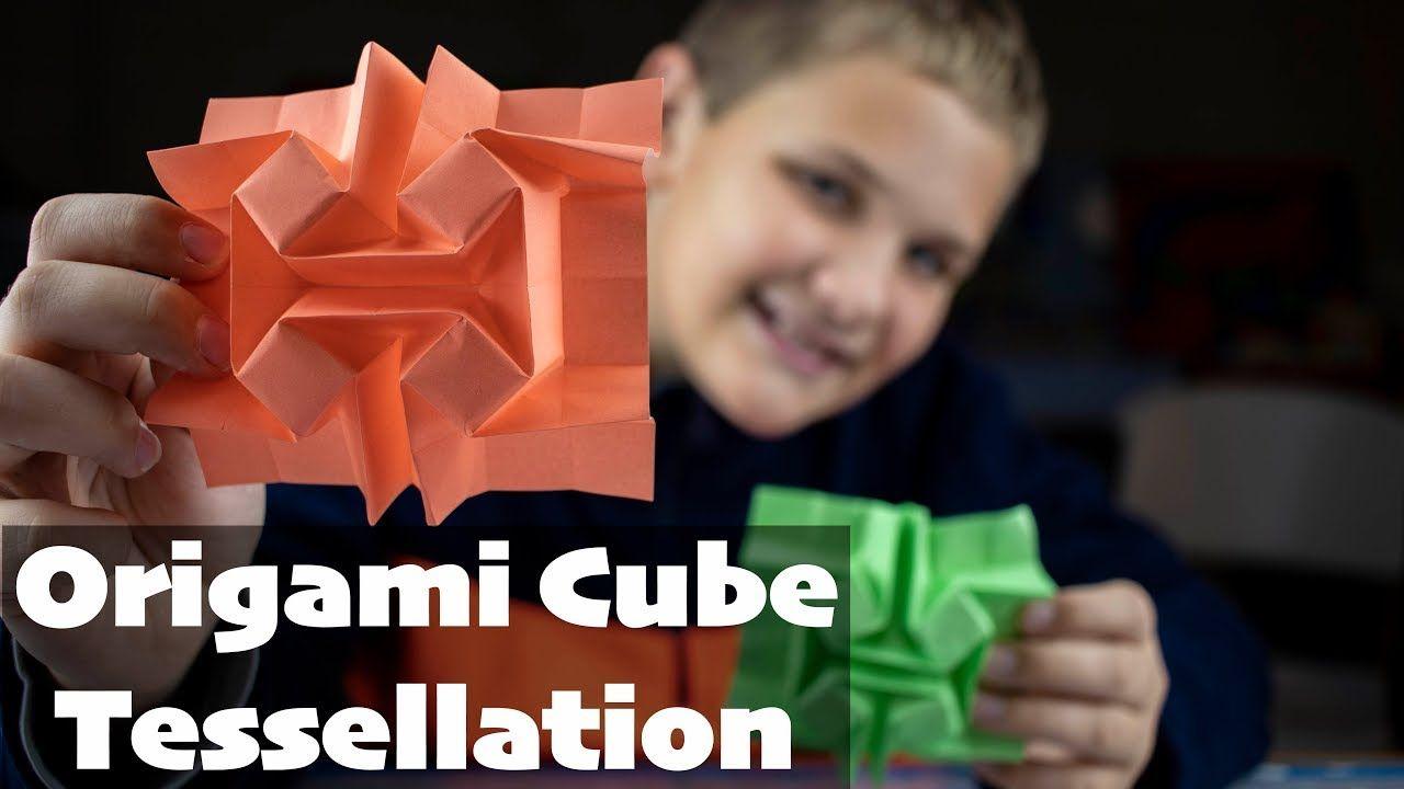 Photo of Origami Würfel Tessellation (Wie man faltet)