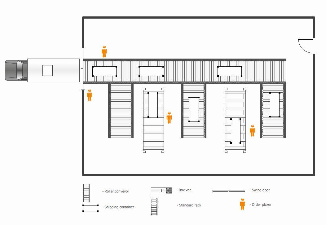 30 Warehouse Floor Plan Template in 2020 Warehouse floor
