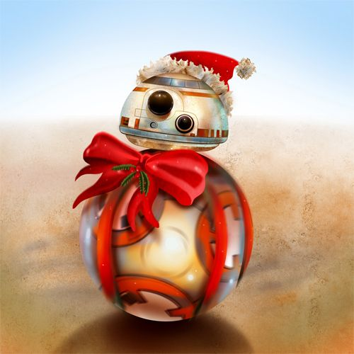 Christmas Bb 8 By Fresco Child On Deviantart Star Wars Christmas Star Wars Art Star Wars Geek