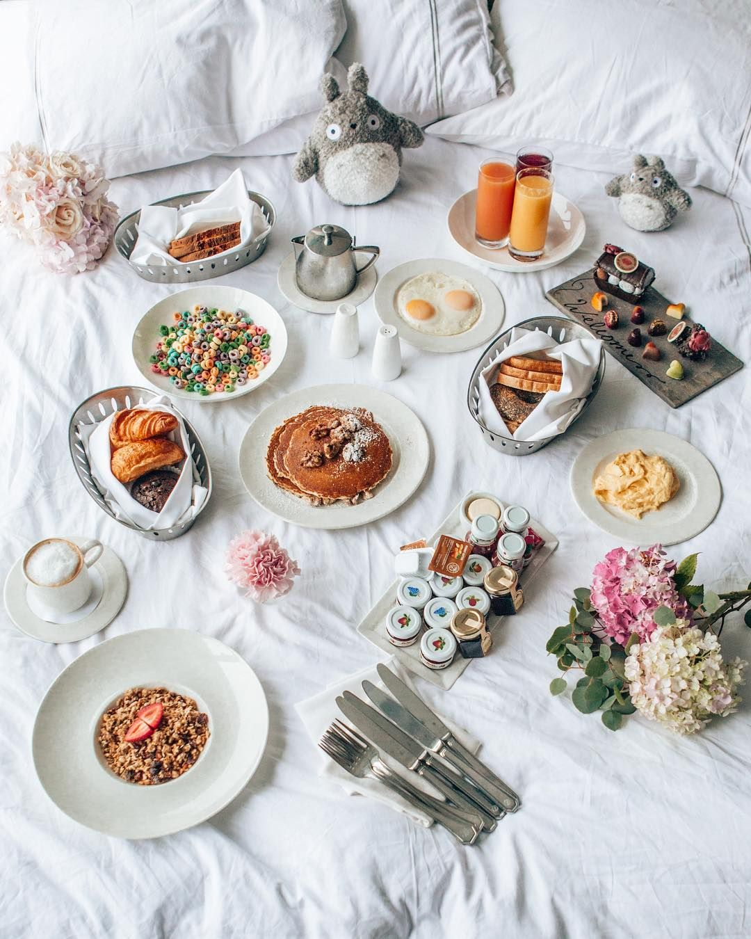 Bed and breakfast at fairmont san francisco by madeline lu