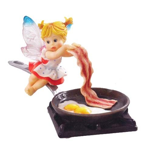 Designed exclusively for Enesco by G.G. Santiago, these fairies are hand-painted and made from stone resin with acrylic wings.