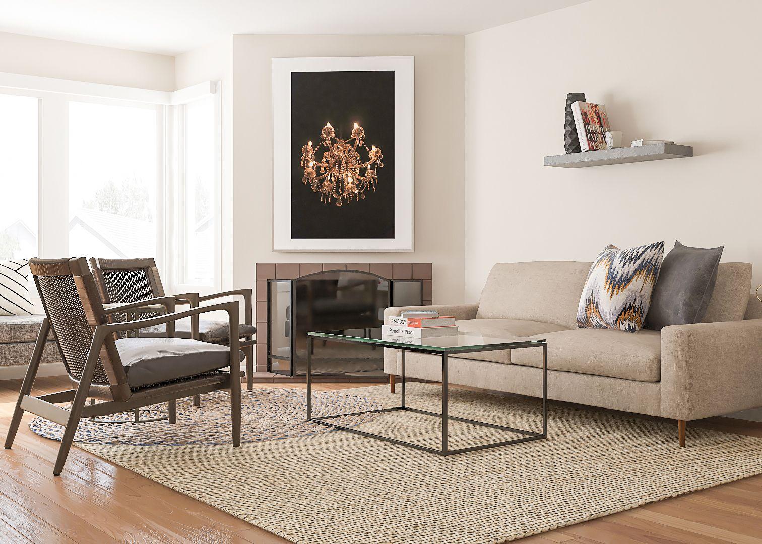 Contemporary and comfortable living room design ideas | Contemporary ...