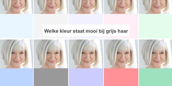 Welke kleuren passen mooi bij grijs haar? Was ist los mit dir?