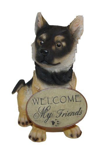 Garden Style 24-537 19.5 x 11.6 x 22.5cm Dog Welcome Sign - Black Garden Style http://www.amazon.co.uk/dp/B00BMR0KSM/ref=cm_sw_r_pi_dp_e4rRvb1R824CD