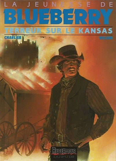 Blueberry (La Jeunesse de) -5- Terreur sur le Kansas  -  1987